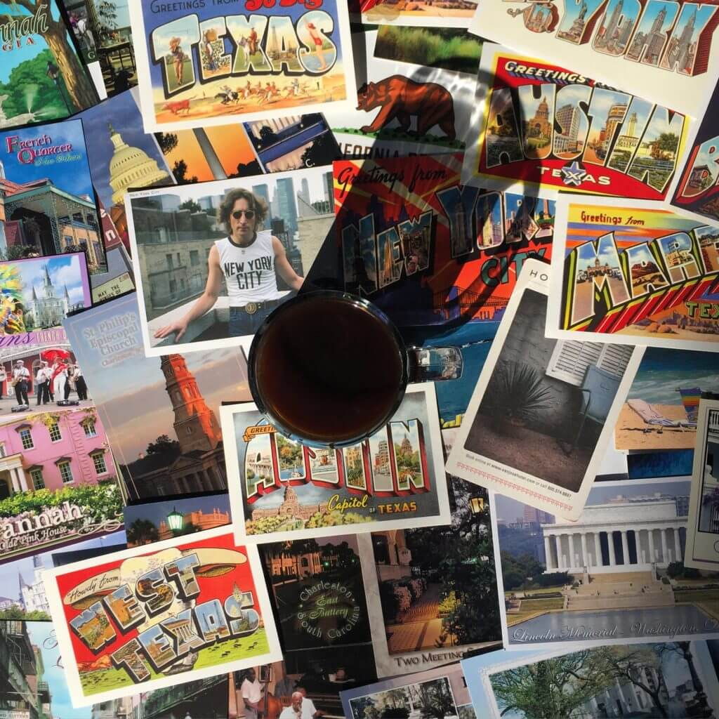 Road Trip Tips - Postcards