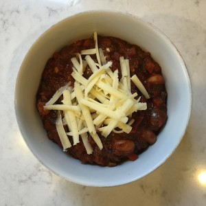 chili with coffee