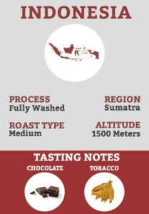 Indonesia Coffee - Fully washed coffee processing