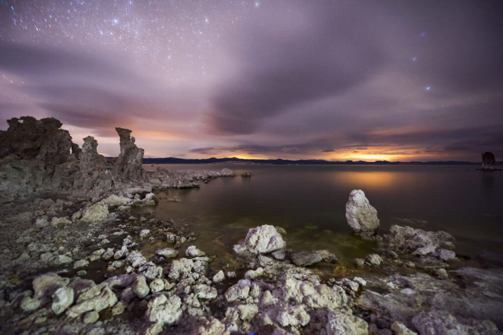 Mono Lake Long Exposure by Robert Sternheim