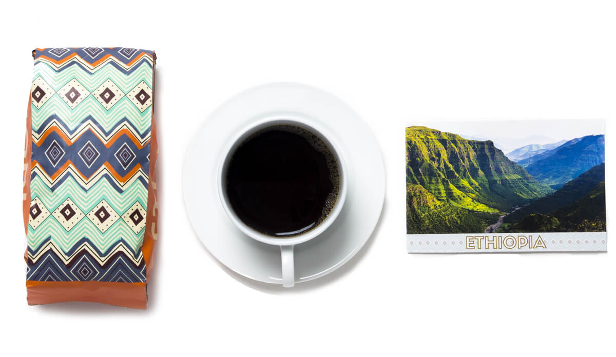 Discover Ethiopia_Atlas Coffee Bag Design