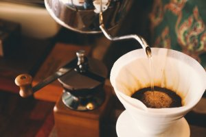 Pour Over Burundi Coffee