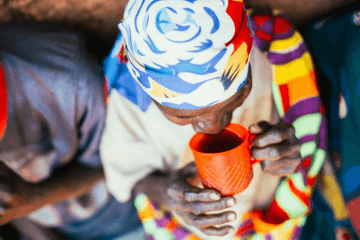 Burundi Coffee Drinking