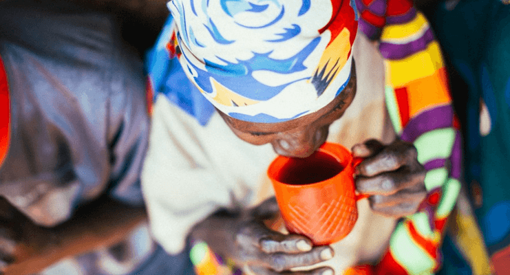 Burundi Coffee Drinking