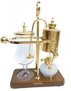 Belgium Luxury Royal Family Balance Syphon Siphon Coffee Maker