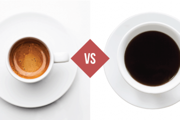 coffee and espresso differences