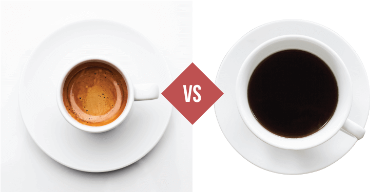 Differences Between Coffee And Espresso