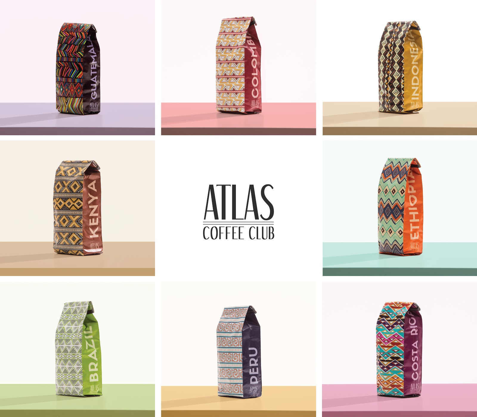 Atlas Coffee Club Coffee Culture Collection 1