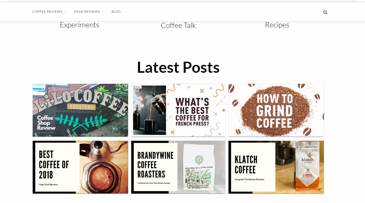 Best Coffee Blogs: Coffee Concierge
