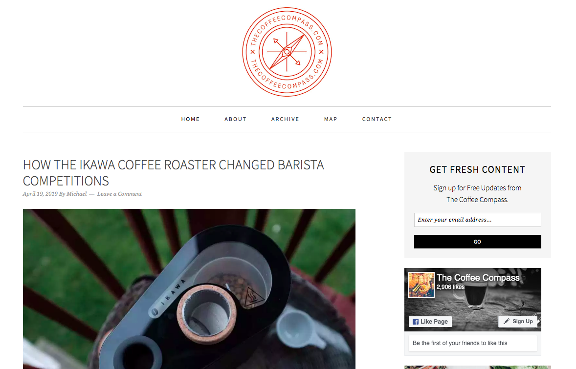 Best Coffee Blogs: The Coffee Compass