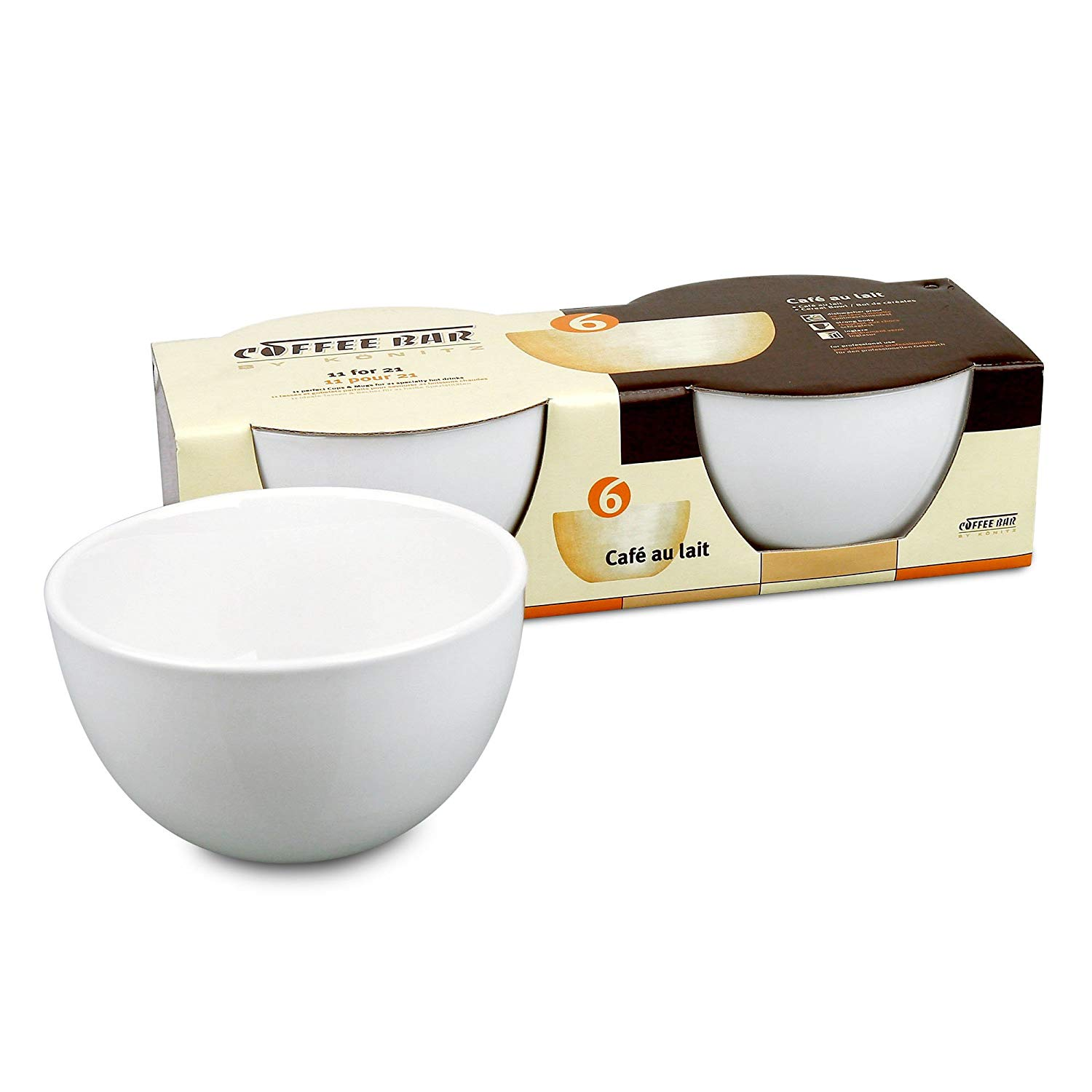 Gifts for Coffee Lovers: Konitz Cafe Au Lait Bowls