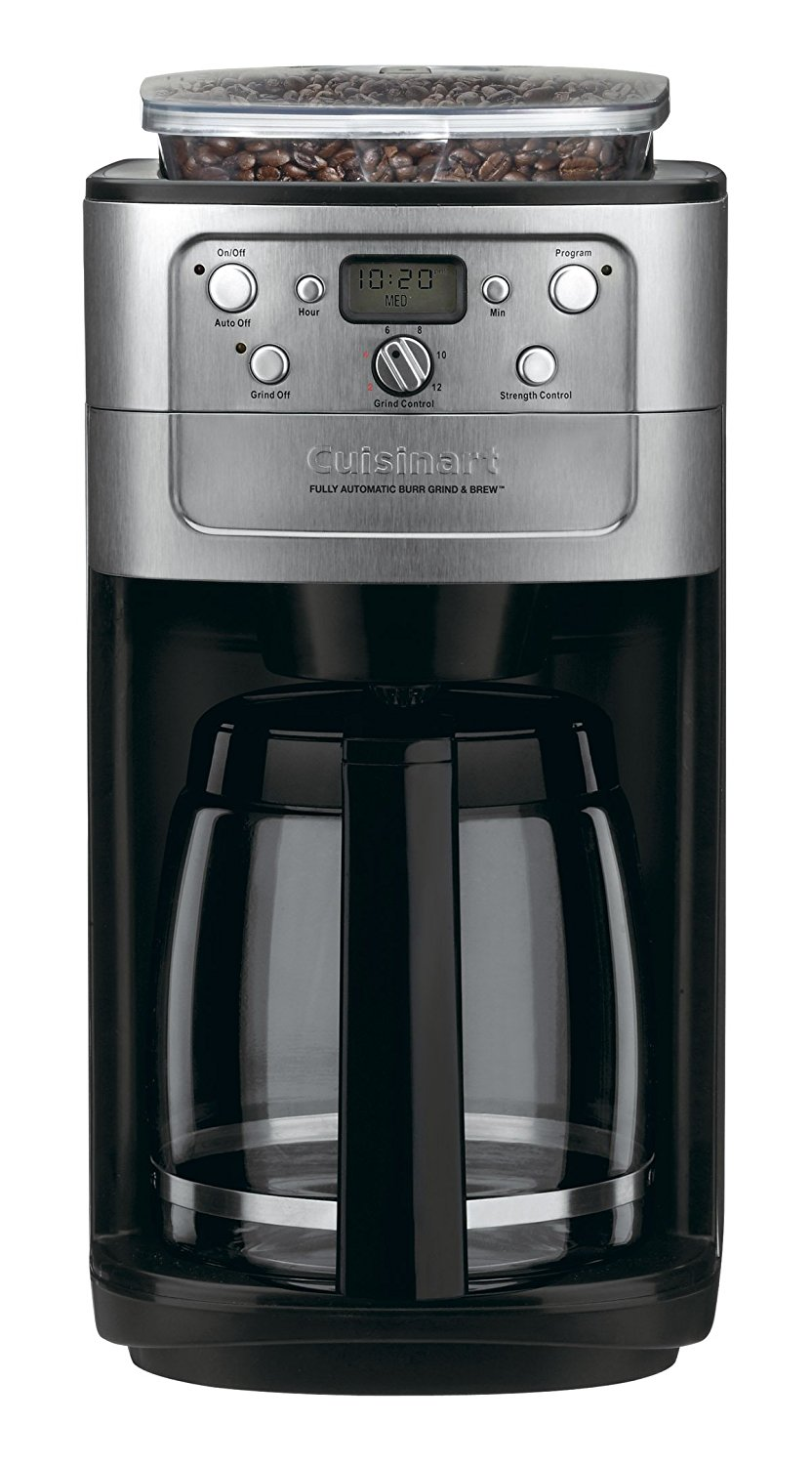 Gifts for Coffee Lovers: Cuisinart 12 Cup Coffee Maker