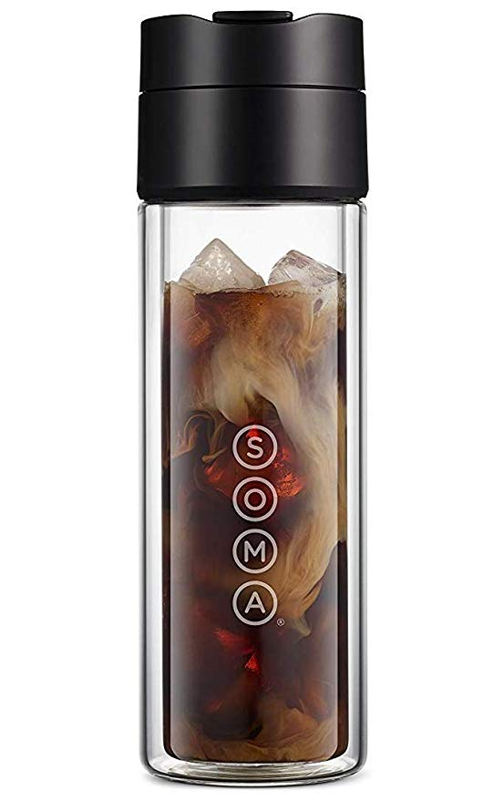 Soma cold brew bottle